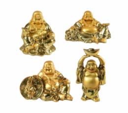 Buda dorado del dinero