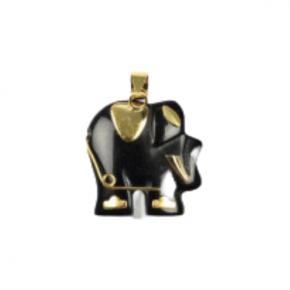 colgante elefante onix