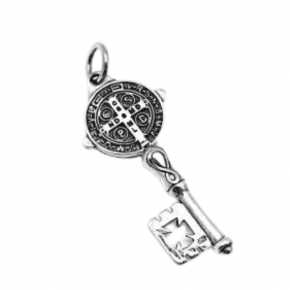 Colgante llave san Benito