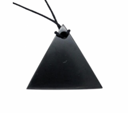 Colgante pirámide shungit