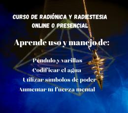 Curso radiestesia valencia