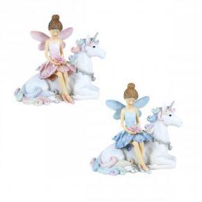 hada sobre unicornio