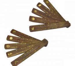 incensario tabla madera