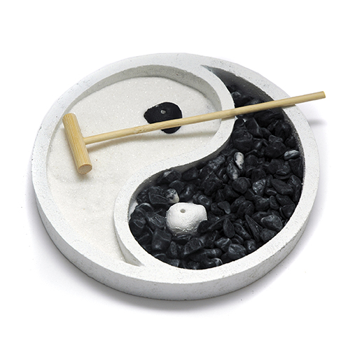 jardín zen yinyang