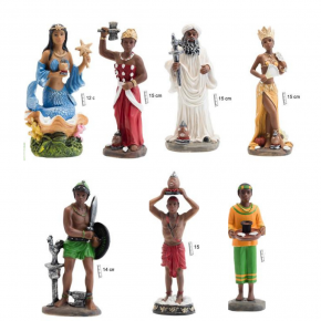 Figuras Orishas 15 cm