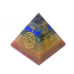 Piramide chakras reiki