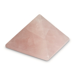 piramide cuarzo rosa 3cm