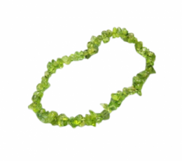 Pulsera chip olivino
