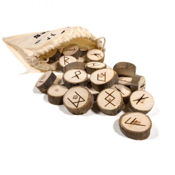 Runas vikingas madera