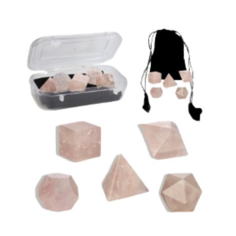 set-formas-geometricas-cuarzo-rosa