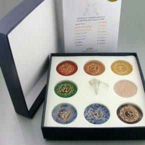 set chakras y pendulo