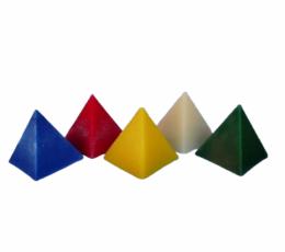 Vela pirámide color