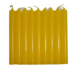 Vela amarilla 10 x 1 cm