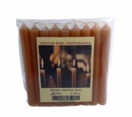 velas de miel 10 x 1 cm